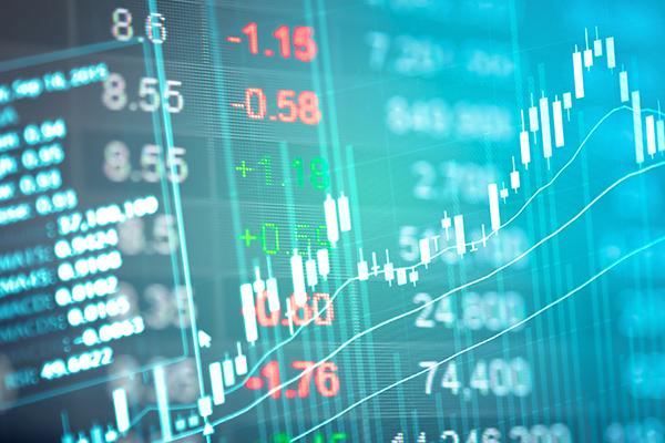 Stock market graph upward trend 600x400